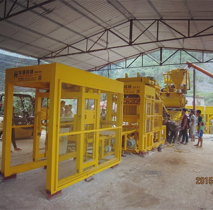 Customer's production site