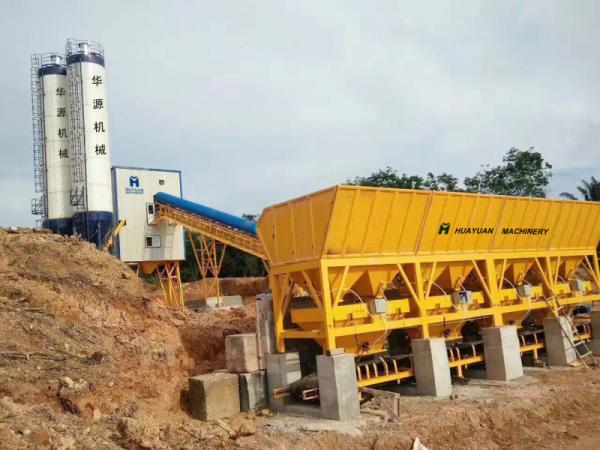 HZS90 Concrete mixing station equipment